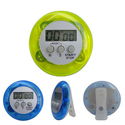 Magnetic LCD Stop Watch Digital Timer Kitchen Alarm Clock
