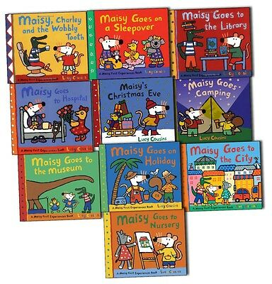 Maisy Mouse First Experiences Collection 10 Books Pack Set By Lucy Cousins