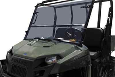 QuadBoss Folding Windshield POLARIS RANGER 900 CREW RANGER 900 XP Ranger 570 etc