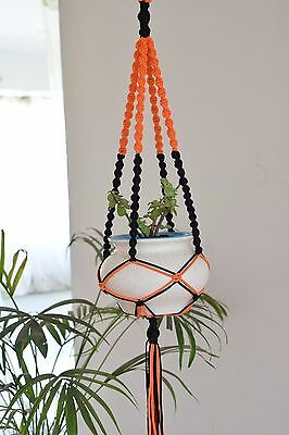 handmade Macrame plant hanger plant holder 36 inches