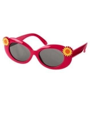 Nwt Gymboree Sunflower Smiles Pink Sunglasses Size 4 & up