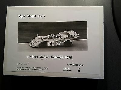1/24 VMC Porsche 908/3 Turbo  1975 GFK Full Kit Neu