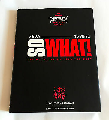 METALLICA So What JAPAN PHOTO & TEXT BOOK 2005 Hardcover