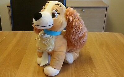 Disney Store Lady And The Tramp Lady 14 inch Plush Soft Toy