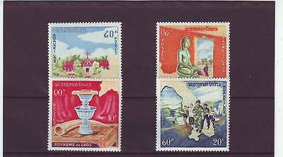 a102- LAOS - SG139-142 MNH 1964 CONSTITUTIONAL MONARCHY