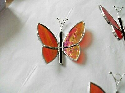Handmade Stained Glass butterfly  Sun-catcher