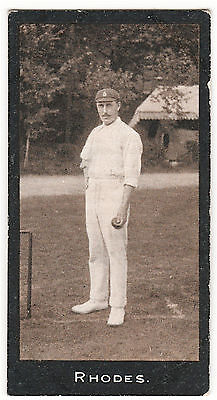 F&j Smith Cricketers (1-50) #34 Rhodes (Yorkshire & England) Very Good Cond 1912