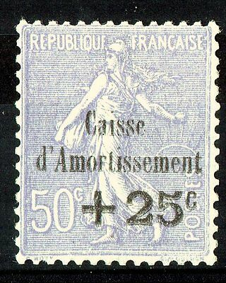 Caisse D'amortissement N° 276 Neuf** Luxe Cote+++300 Euros