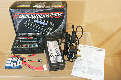 EQUILIBRIUM MINIV2 RCA0028UK BATTERY BALLANCE CHARGER for RADIO CONTROL ni