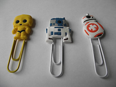 Star Wars Bookmarks/Paperclips - Various Designs