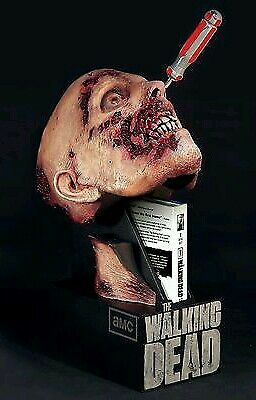 Second season Bluray Limited Edition of The Walking Dead Zombie Head