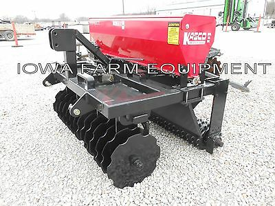 Overseeder, Inner Seeder Drill, No/Min Till Drill, Planter: 5' Kasco Vari Slice