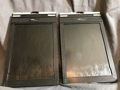 Two (2) Fidelity Deluxe - 5x7 Film Holders - Large Format