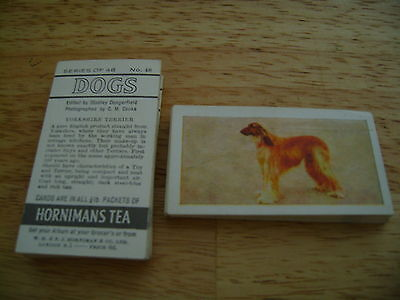 Dogs Full Set By Hornimans Tea