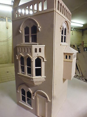 Dolls House 12th scale The Tower House. Ready Made   Mediaeval style by DHD
