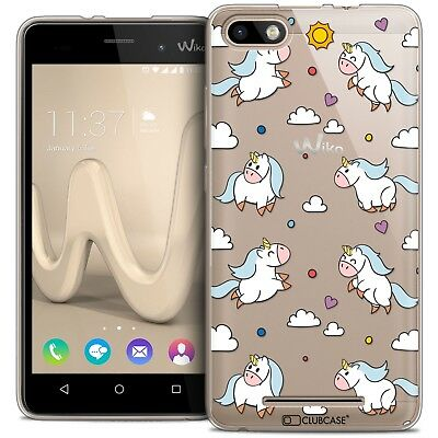 Coque Crystal Gel Wiko Lenny 3 Extra Fine Souple Fantasia Licorne In the Sky