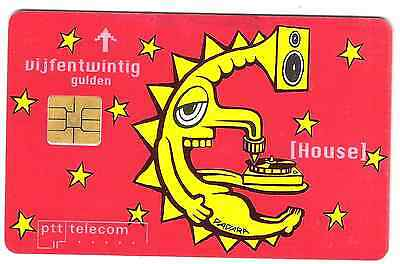 Netherlands phonecard game theme used.