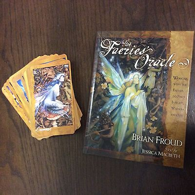 The Faeries Oracle Book And Cards Box Set By Brian Froud Jessica Macbeth