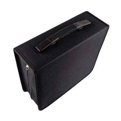 288 CD DVD Storage Holder Box Case Pouch Cover Video Game Disks Folder