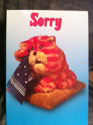 BN Bagpuss Card Sorry with Bagpuss on the front