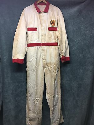 Vintage Union Made Ford Engine Foundry Advertising Coveralls Overalls Work Wear