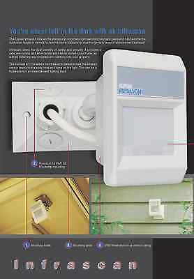 Clipsal Motion Security Sensors, Passive Infrared Outdoor,Infrascan 2 Wire 750WP