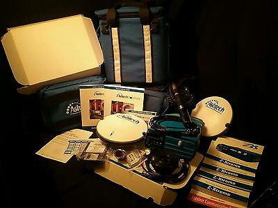 ASHTECH GPS surveying system lot  Z-Xtreme receiver intact tested works well