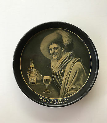 1914 Olympia Brewing Co Tin Lithograph Advertising Tip Tray Pre-Pro Beer Tray