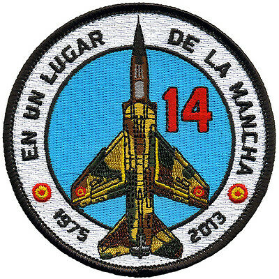 Parche Mirage F-1 Ejército del Aire España / Spanish Air Force patch. Military.