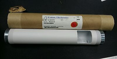 """Extron Electronics Projector Mounting Pipe 12"""" white with cable access (PMP 12)"""