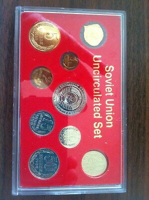 Soviet Union Uncirculated Set Of Coins 1988