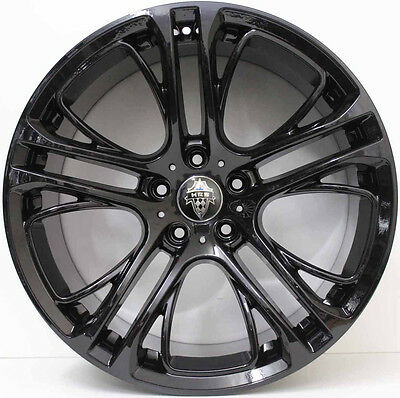 20 inch  Aftermarket Alloy Wheels to suit t BMW X3 / X4  gloss black + New Tyres