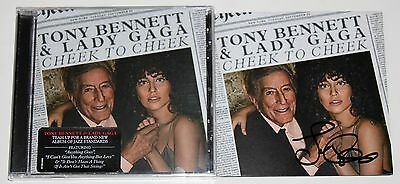 Lady Gaga Signed Cheek To Cheek Cd Booklet Brand New Proof Autographed +Coa