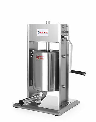 10 L Sausage Filling Machine Pro Stainless Steel Butcher's Shop 2 Speed