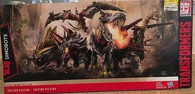 Transformers Age of Extinction Dinobots Unleashed - Platinum Edition NIB 5pack