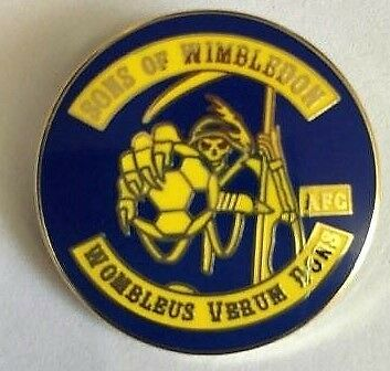Sons of Wimbledon AFC - Us Wombles Real Dons.Limited edition badge