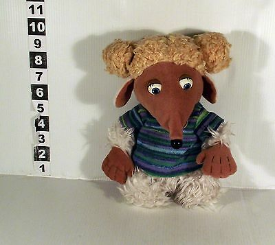 "10"" Alderney Girl Womble Soft Toy The Wombles First Love"