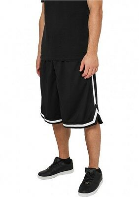 Urban Classics Stripes Mesh Shorts Basketball Short NBA