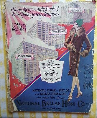 National Bellas Hess Style book Fall/Winter 1927-1928