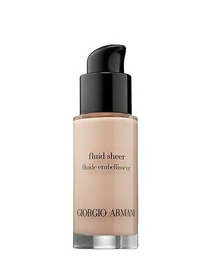 Giorgio Armani FLUID SHEER HIGHLIGHTER #7 Rose Pâle Scintillant New