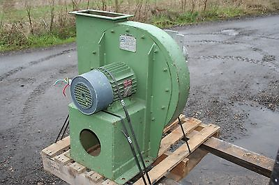 APL Industrial Saw Dust Cyclone Centrifugal Fan Extractor Unit 415volt