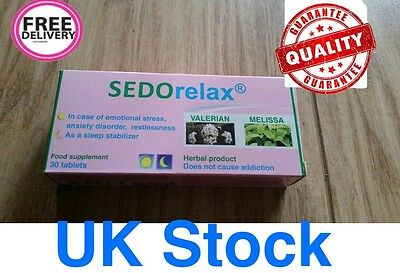 SEDOrelax 30 film coated tablets Day&Night. Sleeping,stress