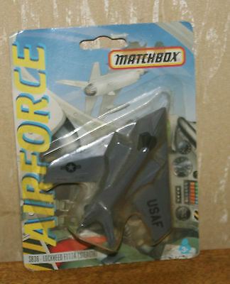 "Matchbox Airforce  SB-36 Lockheed F-117A ""stealth"" Carded BNIB"