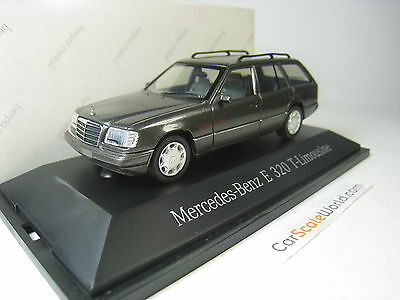 Mercedes Benz E320 T Modell W124 1/43 Herpa (Grey)