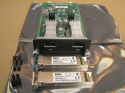 Dell Force10 XFP Module 759-00032-03 S50-01-10GE-2P Dual Port 10Gb 03685N