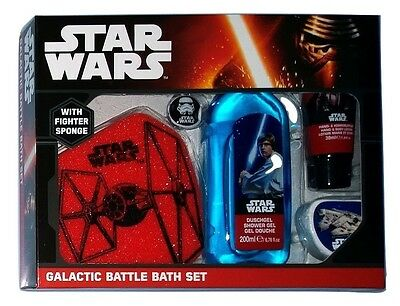 Star Wars Galactic Battle Bath Set/Badeset Geschenk Set