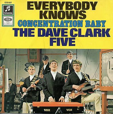 7 45 The Dave Clark Five - Everybody Knows RARE GER 1967 Beat Single NM Con.