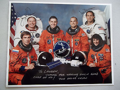 STS-88 Autographed 8X10 Crew Photo