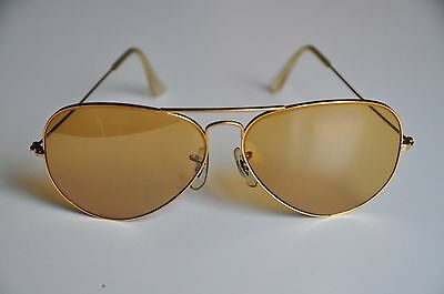 Vintage Ray Ban Bausch + Lomb Aviator Sonnenbrille B&L USA sun glasses + Etui