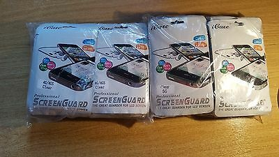 Wholesale, Joblot 200pcs iphone screen guards retail packed - clearance